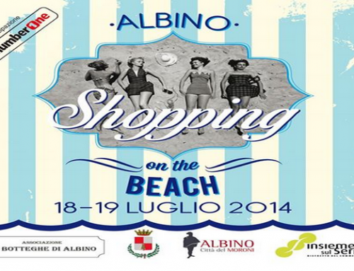 Albino shopping on the beach con Ottica Maldotti