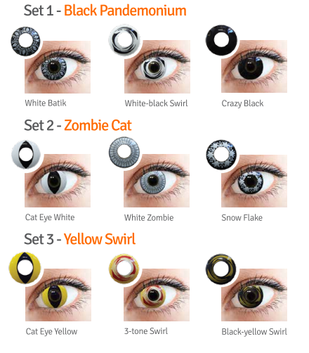 Stupisci tutti ad Halloween con Freevision Crazy Colors - Marziali e ... 9be25df58a05