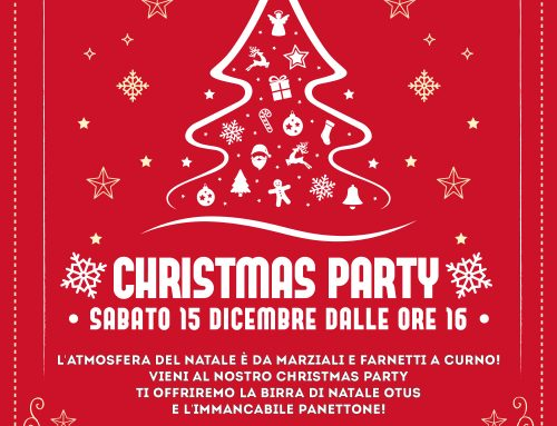 Christmas Party da Marziali e Farneti CURNO